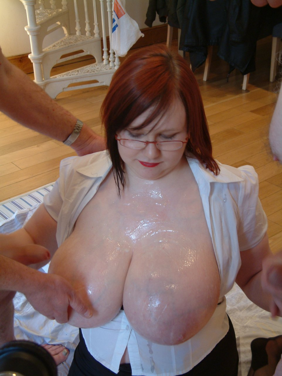 Huge old fat tits-8733
